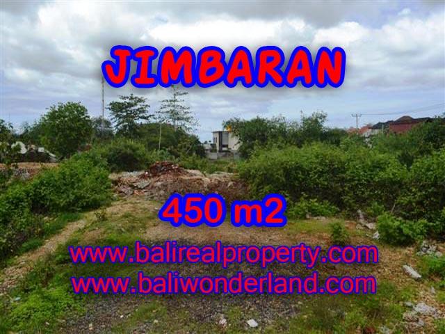 Jual tanah di Jimbaran 450 m2 di Jimbaran Ungasan