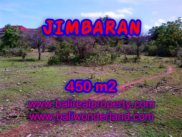 Tanah di Jimbaran dijual 450 m2 di Jimbaran Ungasan