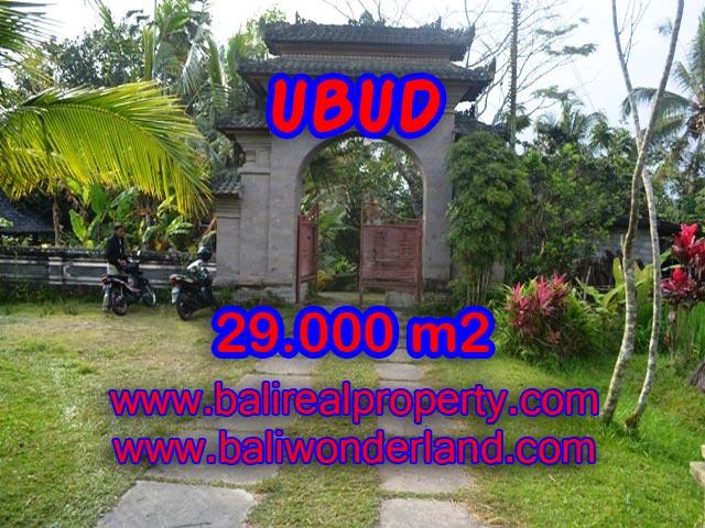 Tanah di Ubud dijual