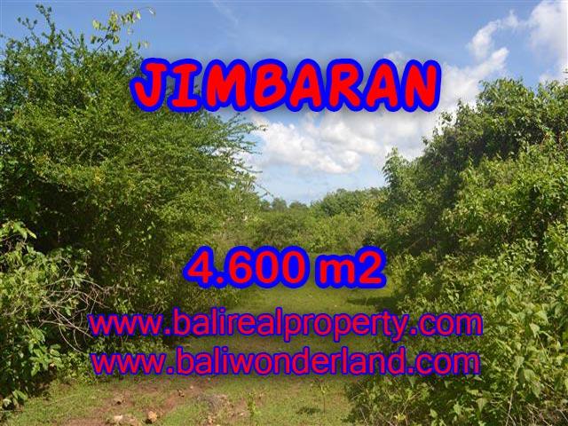 Tanah dijual di Bali 4.600 m2 di Jimbaran Ungasan