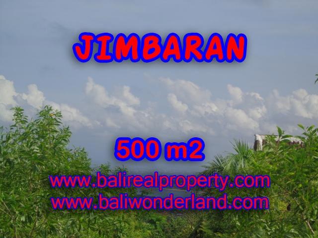 Jual tanah di Jimbaran 500 m2 Lingkungan villa di Jimbaran Ungasan