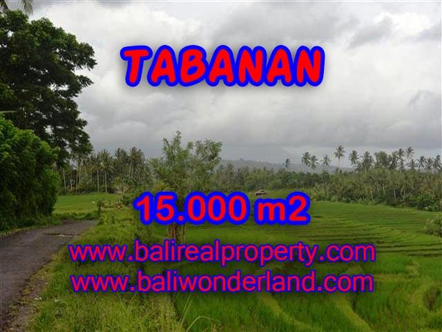 DIJUAL TANAH DI BALI, MURAH DI TABANAN RP 470.000 / M2 - TJTB094