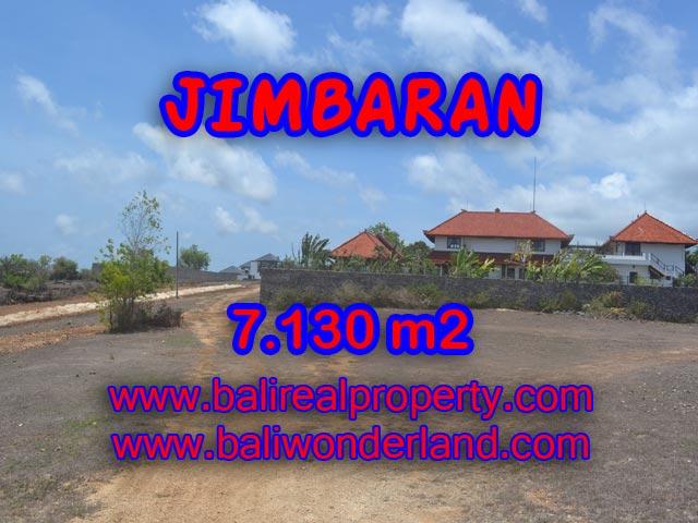 Tanah di Bali dijual 71,3 Are di Jimbaran Ungasan