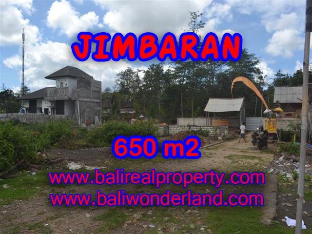 Tanah dijual di Jimbaran 6,5 Are Lingkungan Elite di Jimbaran Ungasan Bali