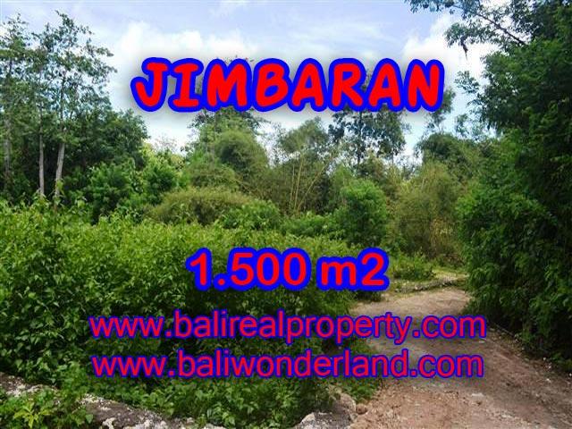 TANAH di JIMBARAN BALI DIJUAL 1,500 m2  Lingk Perumahan dan villa