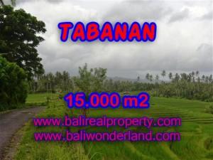 Jual Tanah murah di TABANAN TJTB094 - Kesempatan investasi property di Bali