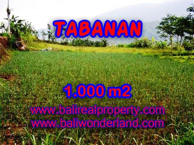 DIJUAL TANAH DI TABANAN BALI TJTB101 - INVESTASI PROPERTY DI BALI