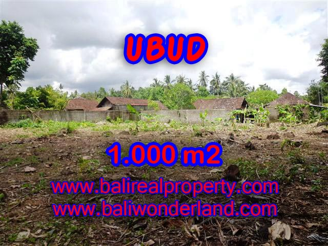 TANAH DI UBUD MURAH TJUB373 - INVESTASI PROPERTY DI BALI