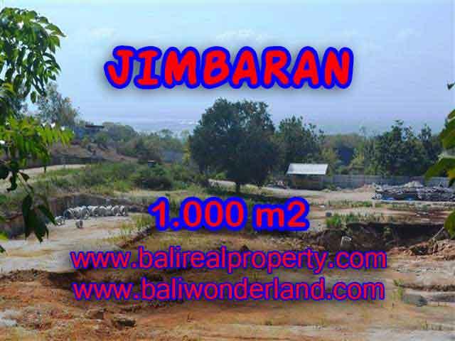 DIJUAL TANAH DI JIMBARAN MURAH TJJI073 - INVESTASI PROPERTY DI BALI