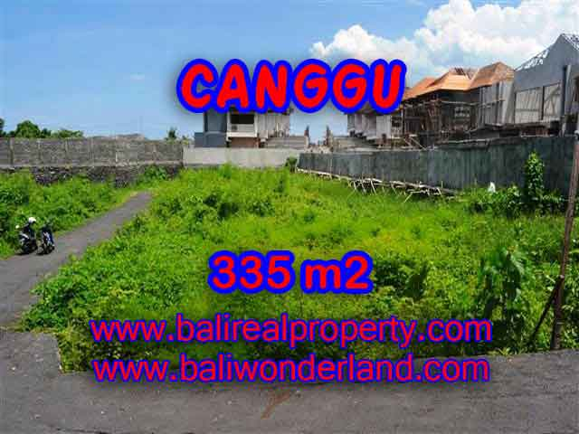 Murah ! Tanah di CANGGU Bali Dijual TJCG142 – investasi property di Bali