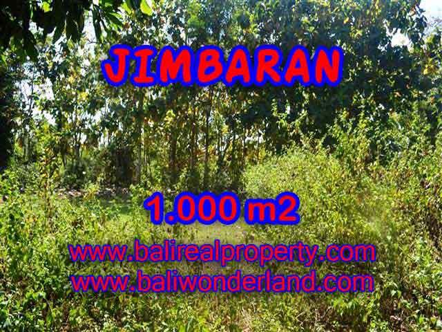 DIJUAL TANAH DI JIMBARAN RP 3.250.000 / M2 - TJJI071 - INVESTASI PROPERTY DI BALI