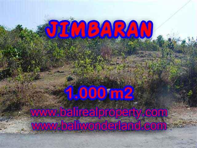 DIJUAL TANAH DI BALI, MURAH DI JIMBARAN RP 3.250.000 / M2 - TJJI074