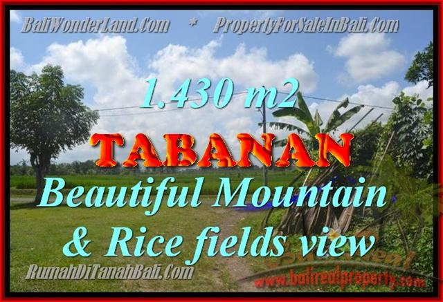 JUAL TANAH DI TABANAN BALI TJTB145