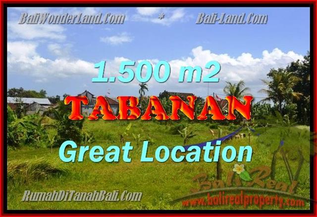 Tanah di TABANAN Bali Dijual murah TJTB144 - investasi property di Bali