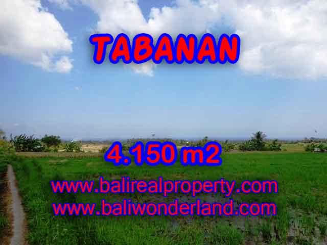 PELUANG INVESTASI PROPERTI DI BALI - TANAH DI TABANAN DIJUAL TJTB137