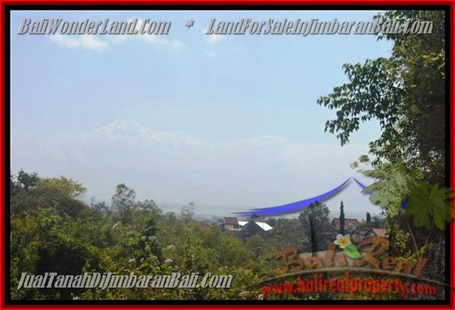 TANAH MURAH di JIMBARAN BALI 375 m2  View laut dan bandara