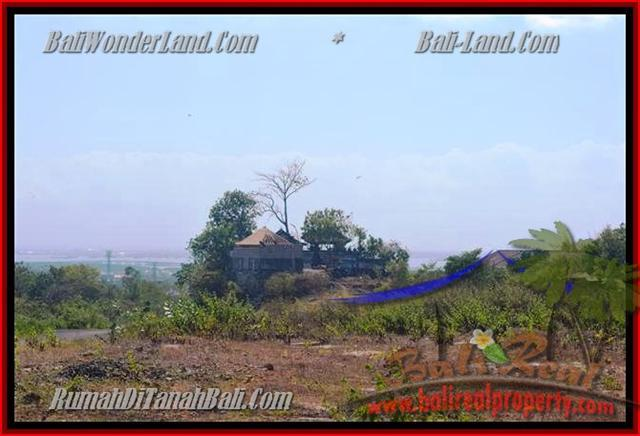 TANAH MURAH di JIMBARAN BALI 750 m2  View laut dan bandara