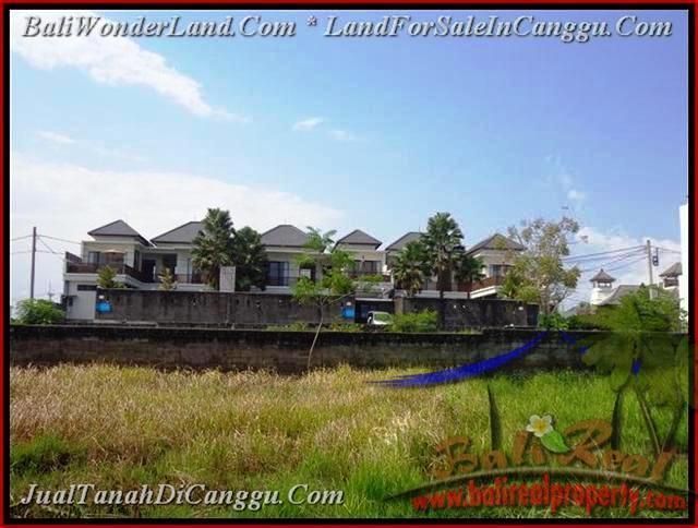 JUAL MURAH TANAH di CANGGU BALI 831 m2  lingkungan villa