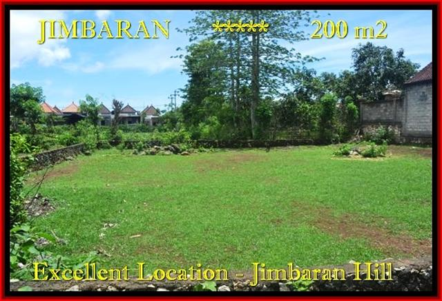 TANAH MURAH DIJUAL di JIMBARAN BALI 2 Are di Jimbaran Ungasan TJJI087