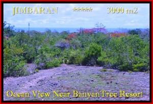 TANAH MURAH di JIMBARAN BALI 3.000 m2 View laut , bukit dan hotel