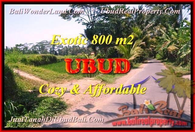 DIJUAL MURAH TANAH di UBUD TJUB457