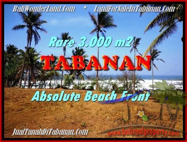 TANAH MURAH di TABANAN BALI 3.000 m2  View gunung laut dan sawah