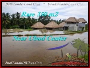 TANAH di UBUD BALI DIJUAL 350 m2 View sawah link villa