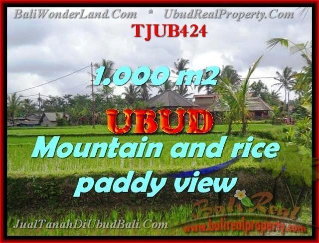 TANAH DIJUAL di UBUD TJUB424