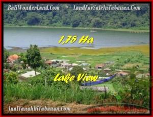 JUAL TANAH di TABANAN 17,800 m2  view danau buyan dan gunung