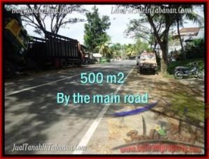 JUAL TANAH MURAH di TABANAN BALI 500 m2  Lingkungan Perumahan