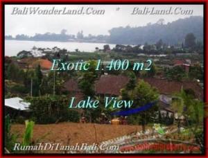 JUAL TANAH MURAH di TABANAN BALI 1,400 m2  View Danau Beratan dan Gunung