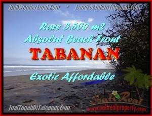 TANAH di TABANAN BALI DIJUAL MURAH 3.500 m2  View laut dan sawah