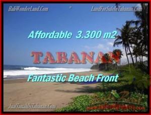 JUAL TANAH MURAH di TABANAN 33 Are view laut dan sawah