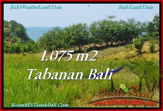 JUAL MURAH TANAH di TABANAN BALI 10.75 Are View Laut dan Gunung