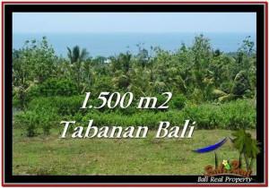 TANAH di TABANAN BALI DIJUAL MURAH 15 Are View Laut dan Kebun