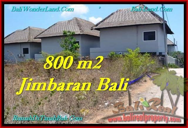 TANAH di JIMBARAN BALI DIJUAL MURAH 800 m2 TJJI098