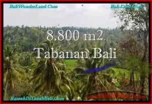 JUAL TANAH di TABANAN 88 Are View laut, Sawah dan Gunung