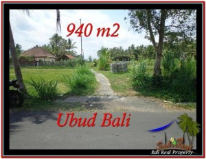 JUAL TANAH MURAH di UBUD 9.4 Are di Ubud Tampak Siring