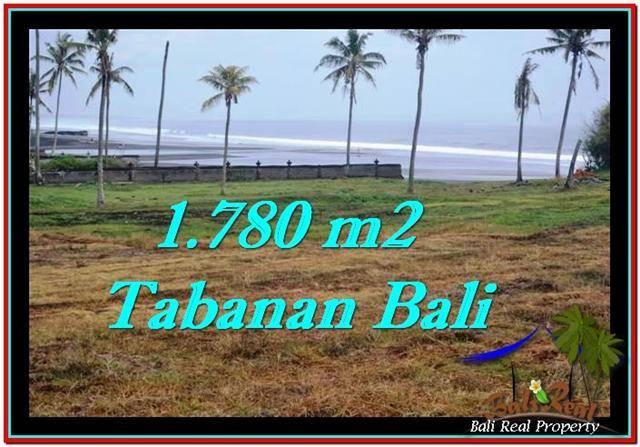 JUAL TANAH di TABANAN 17.8 Are View sawah, laut dan gunung