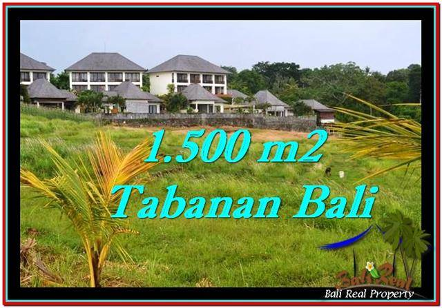 JUAL TANAH MURAH di TABANAN BALI Untuk INVESTASI TJTB252