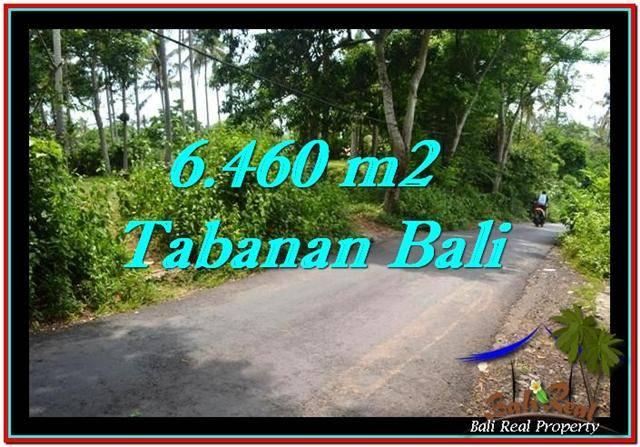 DIJUAL TANAH di TABANAN BALI Untuk INVESTASI TJTB256