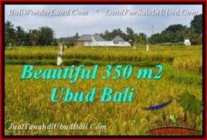 JUAL TANAH di UBUD 3.5 Are View Sawah, link villa