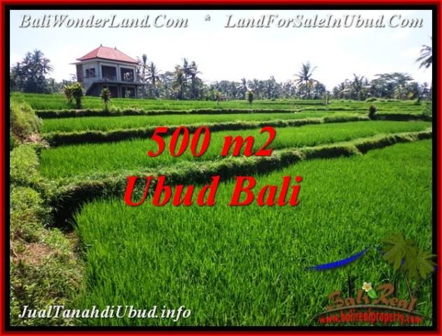 TANAH di UBUD BALI DIJUAL MURAH 500 m2 di Sentral Ubud
