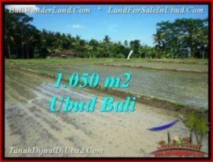 DIJUAL TANAH di UBUD BALI 1,050 m2 di Sentral Ubud