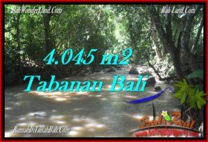 JUAL TANAH MURAH di TABANAN 40.45 Are view sungai dan kebun