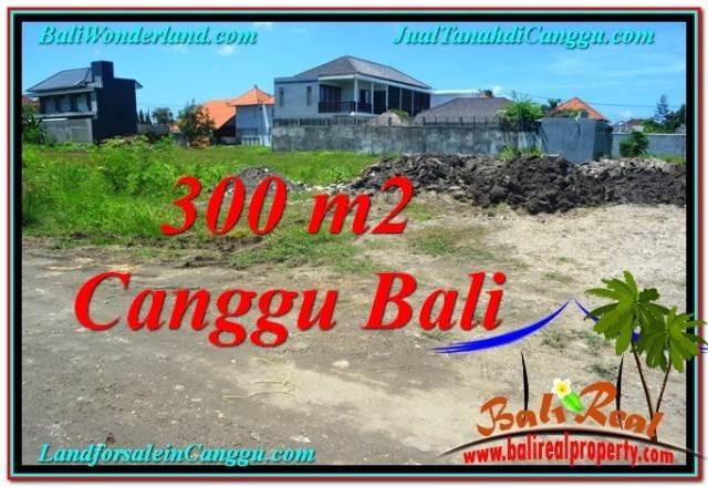 TANAH di CANGGU BALI DIJUAL 300 m2  Lingkungan villa & Hotel