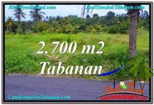 JUAL TANAH MURAH di TABANAN BALI Untuk INVESTASI TJTB301