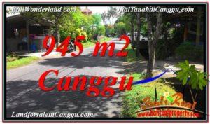 JUAL TANAH MURAH di CANGGU BALI 9.45 Are Lingkungan Villa