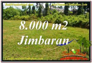 JUAL MURAH TANAH di JIMBARAN 8,000 m2 Lingkungan Villa