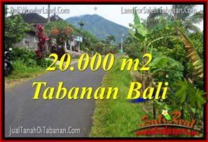TANAH DIJUAL di TABANAN 200 Are View gunung dan sawah